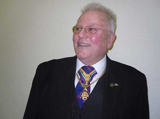 V.W.Bro. Phillip G Orton Diamond Award